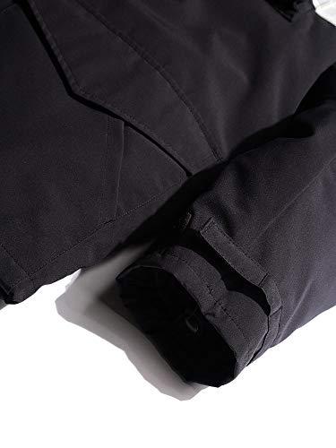 (カナダグース)CANADAGOOSEコムデギャルソンセンターラインインナーダウン付きジャケット[CGWBJ401]ブラック/XS[並行輸入品]