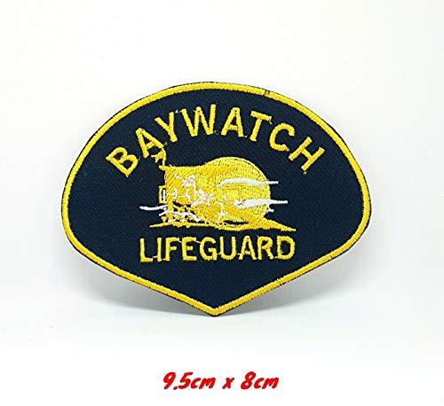 Baywatch Lifeguard Life Guard Aufnäher zum Aufbügeln