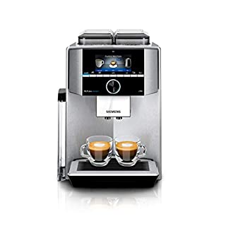 Siemens EQ.9 plus connect S700 TI9575X1DE - Macchina da caffè automatica, personalizzabile, 2 contenitori per chicchi, macina extra silenziosa, 1.500 Watt, acciaio INOX (B07GS8TCZY) | Amazon price tracker / tracking, Amazon price history charts, Amazon price watches, Amazon price drop alerts