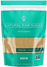 Akenton Natural Raw Cane Sugar, 1.5 Pound Resealable Bag   100% Natural, Unprocessed, Unbleached, Unrefined Sugar   Gluten-Free, Vegan, Kosher   Non-GMO Project Verified