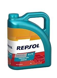 Repsol RP141M55 Elite Common Rail 5W-30 Aceite de Motor para Coche, 5 L