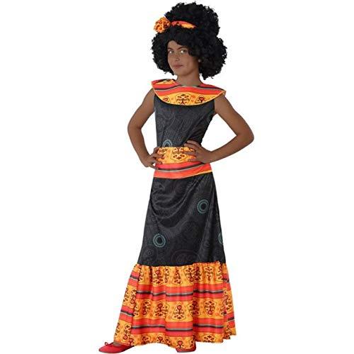 Atosa Disfraz de Africana para niña 7 a 9 años