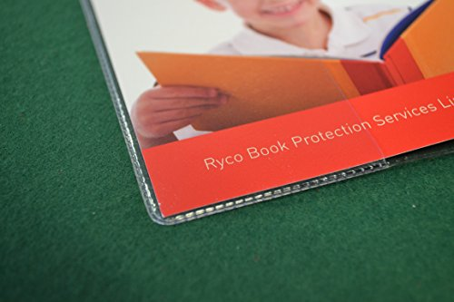 """198mm Slip-on Plastic Book Cover (Max Height 7.8"""" X Max Width 12.2"""") Photo #2"""