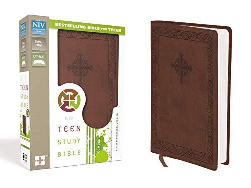 NIV, Teen Study Bible, Compact, Leathersoft, Brown
