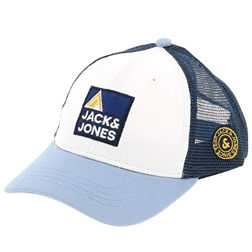 JACK & JONES JACEXPLORE TRUCKER CAP JR, blau(ashleyblue), Gr. L/XL