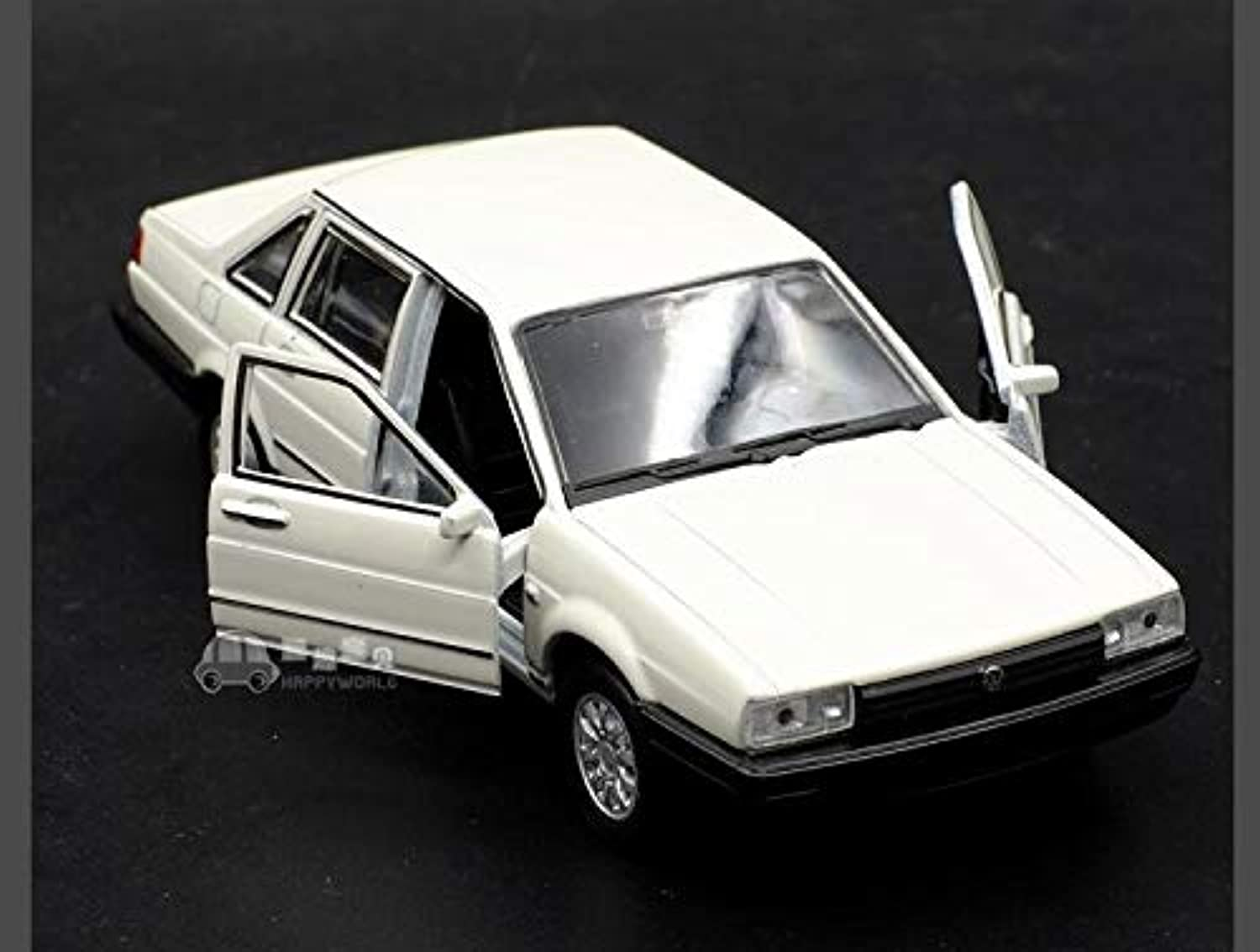 Generic 1pc 1 36 12cm Delicacy Welly Volkswagen Santana VW car Alloy Model Home Collection Decoration boy Toy Gift White