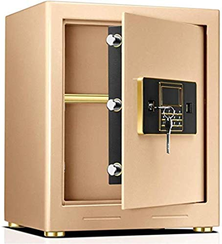 Caja segura Caja digital,caja fuerte electrónica,Caja fuerte de la contraseña Cabineta Confidencial Confidencial All-Steel Office Office Safe -Ideal for familias y tiendas,2 claves de emergencia -4 5x