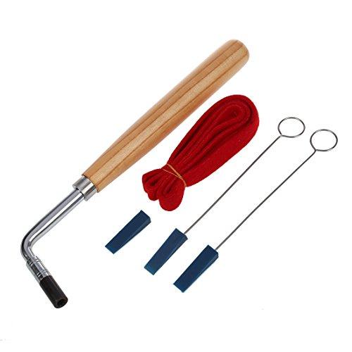 Haudang Haudang (R) 6 Stueck Klavier Hammer Schluessel Tuning Werkzeuge + Case