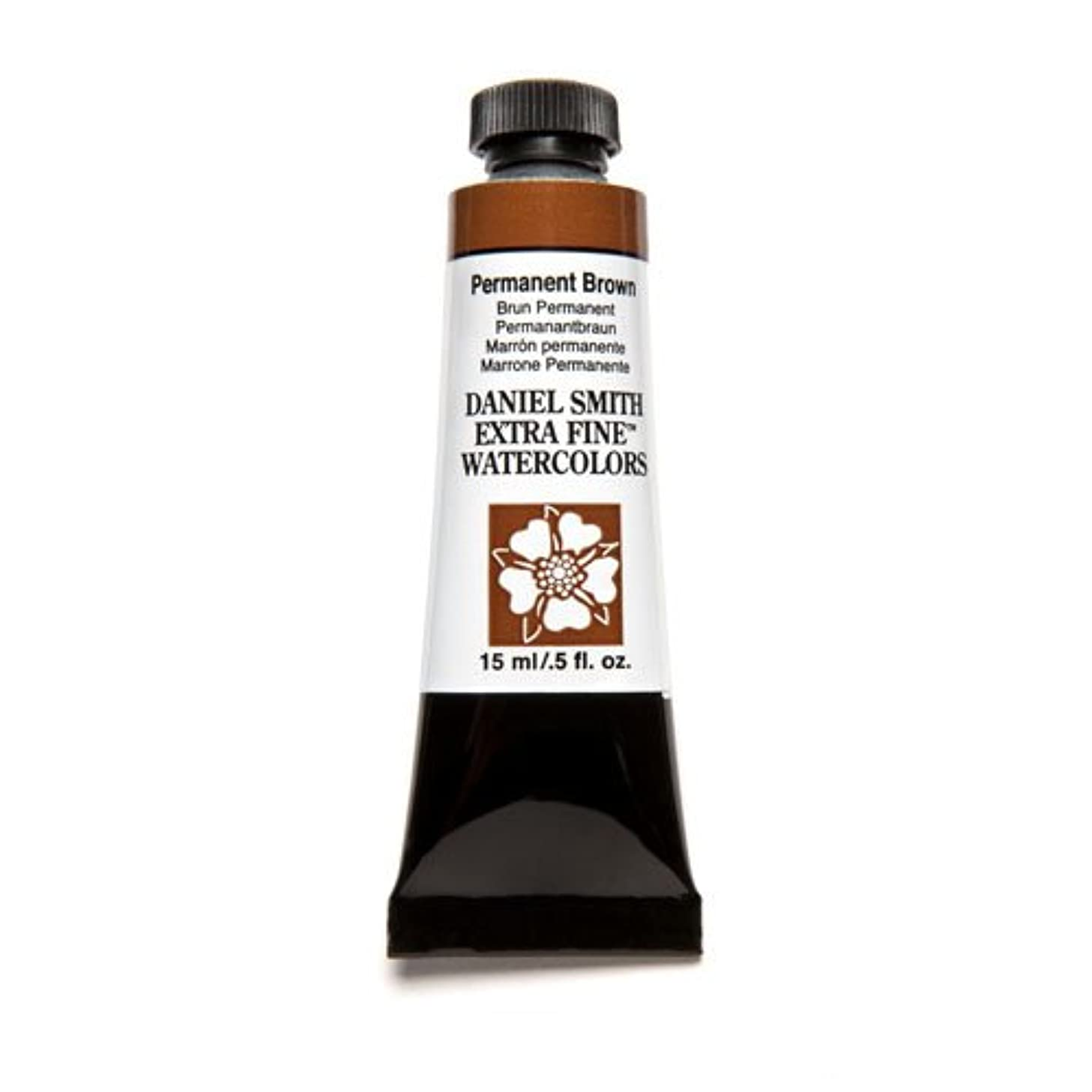 DANIEL SMITH Extra Fine Watercolor 15ml Paint Tube, Permanent Brown