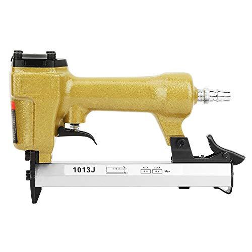 60-100psi Pistola sparachiodi pneumatica a forma di U 1/4'Cucitrice ad aria con caricatore laterale per utensile da lavorazione del legno