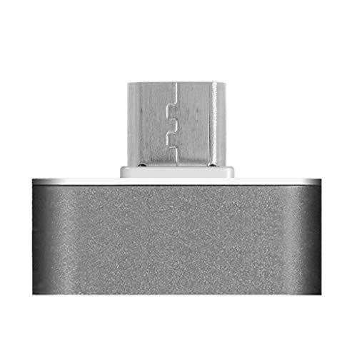 xiaoyao24 Micro USB Smart App control remoto teléfono móvil inalámbrico Appliances adaptador de infrarrojos compatible con aire acondicionado TV DVD