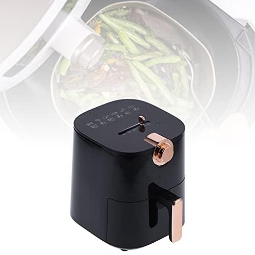 Freidora, sartén antiadherente 4.5L Freidora de aire de gran capacidad Control de tiempo Circulación de aire caliente de 360 grados para restaurante para cocina para otras escenas
