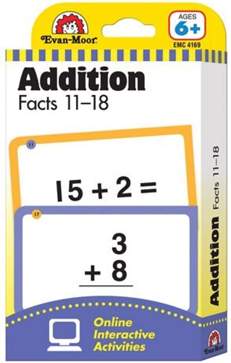 Flashcards Addition Facts 1118 by Constructive Playthings