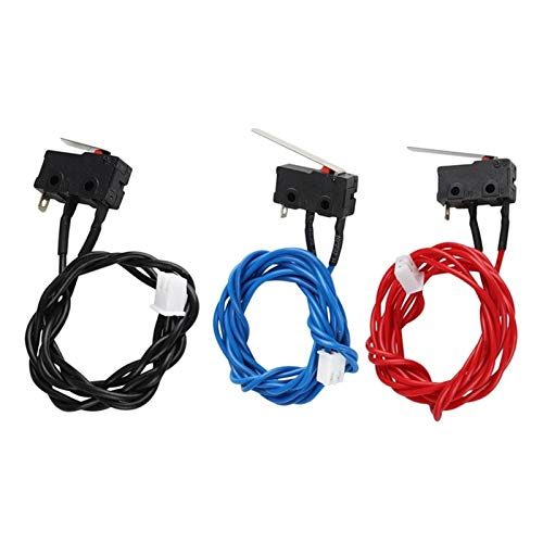 VIKTK 3D Printer Ultimaker 2 Extended + Limit Switch Kit Red Blue Black Cable Endstop Hx2.54 Connector