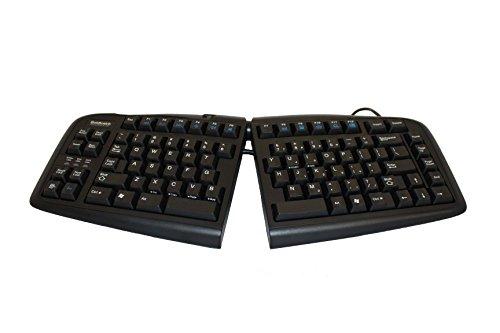 Goldtouch GTN-0099 V2 Adjustable Ergonomic Keyboard -- PC Only (USB & PS2) Black