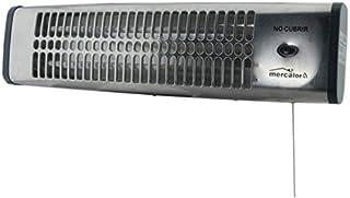 MT- Calefactor infrarrojos baño pared. potencia: 600/1.200 w. interruptor de seguridad.