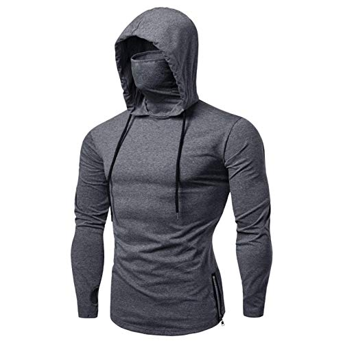 SANFASHION Männer Sweatshirt Langarm Herbst Winter Herren Kapuzenpullover | Sale | Casual Sweatshirt Hoodies Top Bluse Trainingsanzüge