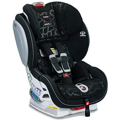 Britax Advocate ClickTight Convertible Car Seat - 3 Layer Impact Protection - Rear and Forward Facing - 5 to 65 Pounds, Mosaic