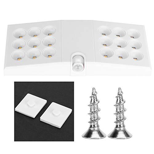 Rodi Luz con Sensor de Movimiento, lámpara de Pared de Carga USB Ajustable, luz Blanca para el hogar, para guardarropas