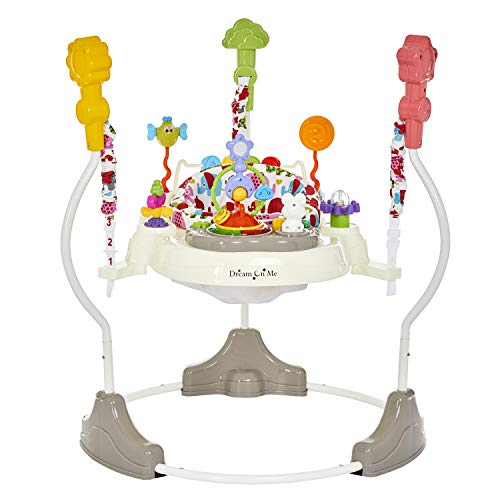 Dream On Me, Zany Activity Center Bouncer, Elephant Print