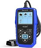 Heavy Duty Truck Scanner NL102 OBD/EOBD+HDOBD Diagnostic Scanner Scan Tools Engine ABS Transmission Check Trucks & Cars 2 in 1 Codes Reader