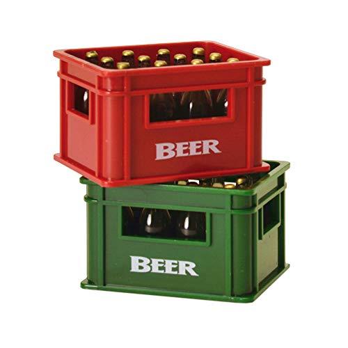 Bierkiste Flaschenöffner mit Magnet - Bierkasten Bieröffner Kapselheber