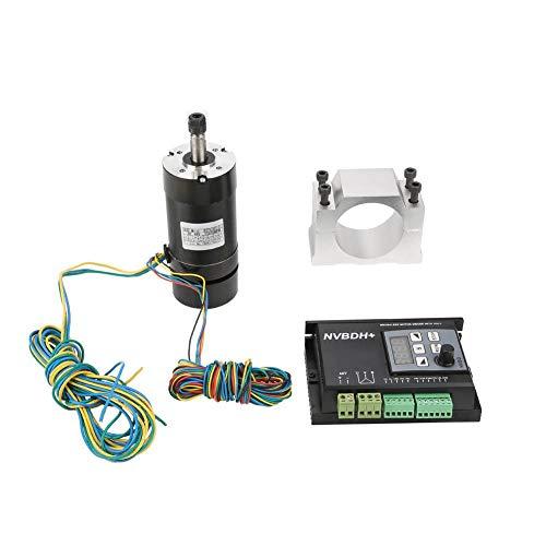 400W CNC Spindelmotor + HALL Brushless Motortreiber Drehzahlregler mit Klammer ER8 für CNC Graviermaschine