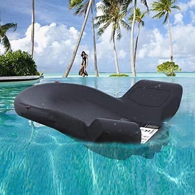 WBJLG Scooter de mar eléctrico Enginesea Scooter 120W Piscina Playa Entretenimiento acuático Hélice de natación para niños Adultos