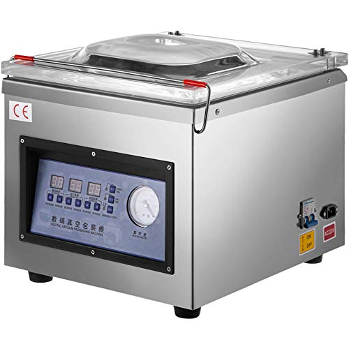 Küchenks Sellador de inducción Continua DZ-260C 220V Máquina de Sellado de envasado al...
