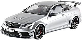 GT Spirit–gt731–Mercedes Benz C63AMG Black Serie–2016–Echelle 1/18–Silber