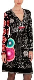 ديسيجوال فستان بيتي طويل الأكمام للنساء