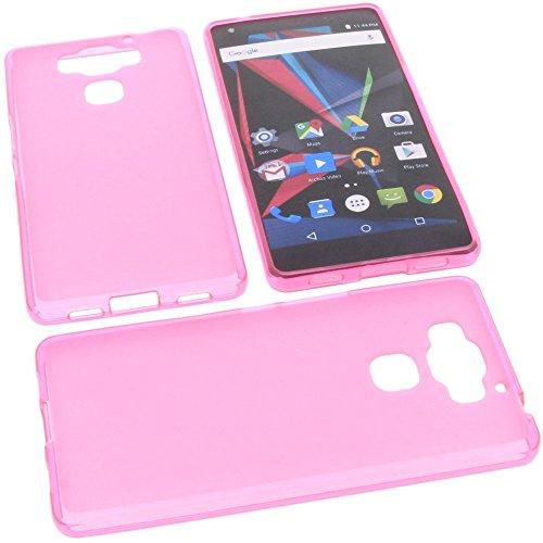 foto-kontor Tasche für Archos Diamond 2 Plus Gummi TPU Schutz Handytasche pink