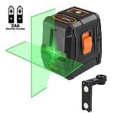 TACKLIFE Nivel Láser Verde 30m, 110° Horizontal y Vertical, Autonivelante, líneas Cruzadas, IP54,...
