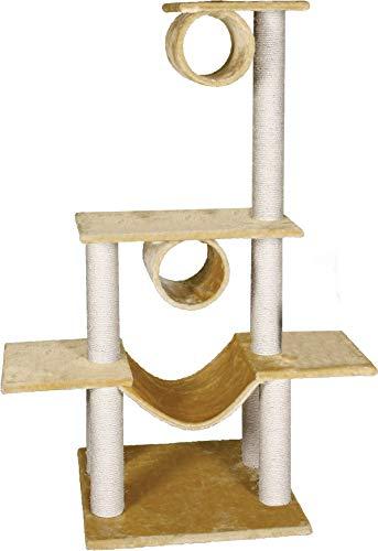 Flamingo Victoria Grattoir pour Chien Beige 103 x 57 x 141 cm