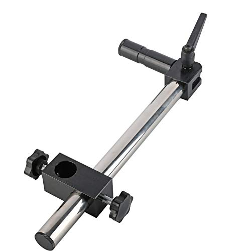 CUHAWUDBA Microscopio EstéReo Brazo de Soporte Universal RotacióN de 360 ??Grados Extendido para Microscopio Binocular Trinocular Eakins