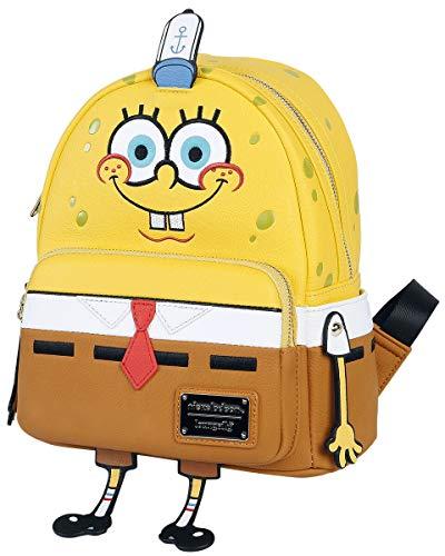 Loungefly SpongeBob SquarePants Faux Leather Mini Backpack