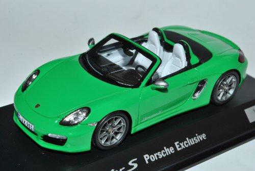 Spark Porsche Boxster 981 S Grün Exclusive limitiert 500 Stück Ab 2012 1/43 Modell Auto