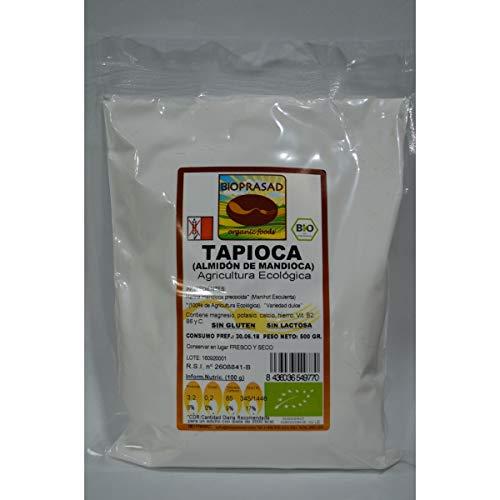Bioprasad - Harina Mandioca Tapioca Bio 250 Gramos - Sin Gluten Sin Lactosa - Procedente De Agricultura Ecológica