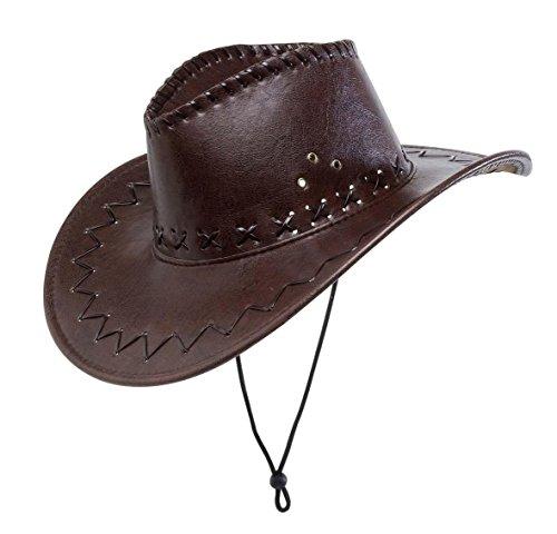 WIDMANN?Sombrero de vaquero, marrón