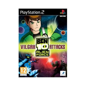PS2 BEN 10 ALIEN FORCE : VILGAX ATTACKS (EU)