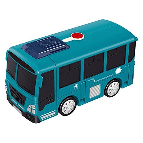freneci Juguete de Coche de autobús de deformación para niños con Volante...