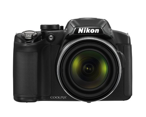 Nikon COOLPIX P510 16.1 MP CMOS Digital Camera with 42x Zoom NIKKOR ED Glass Lens and GPS Record Location (Black) (OLD…