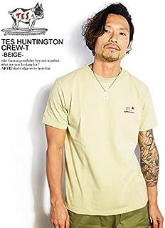 (エンドレスサマー)The Endless Summer TES HUNTINGTON CREW-T -BEIGE- fh-8574364