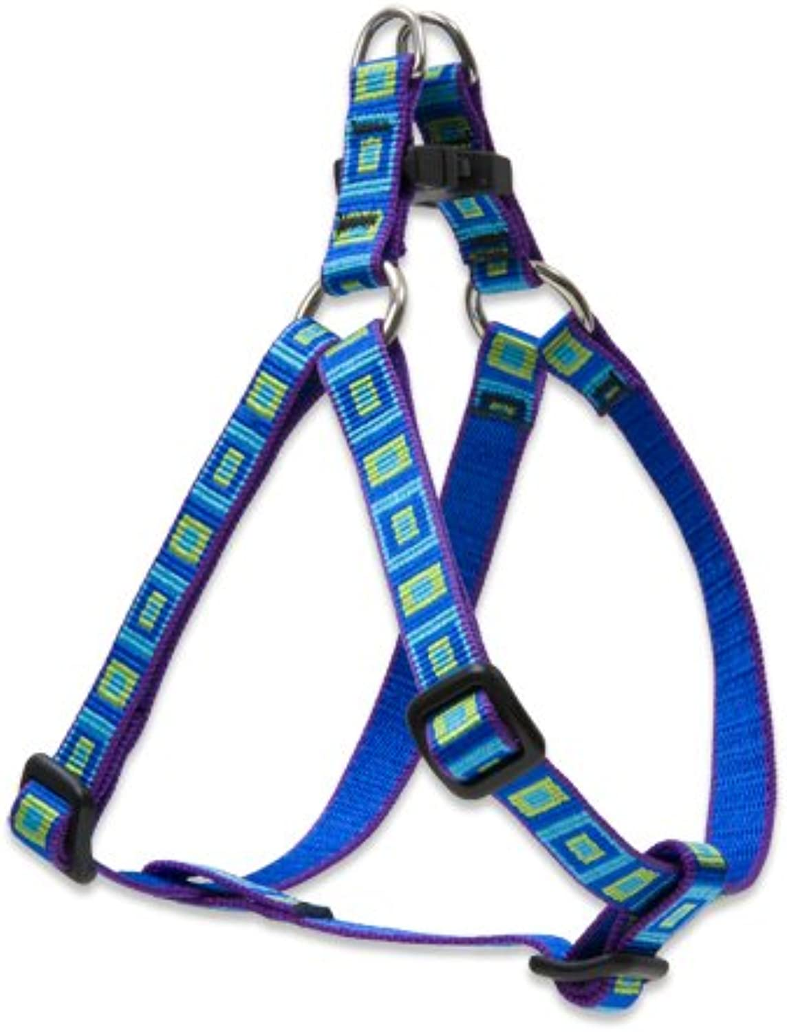 Lupine Step In Dog Harness 1 2Inch, 12Inch to 18Inch, Sea Glass