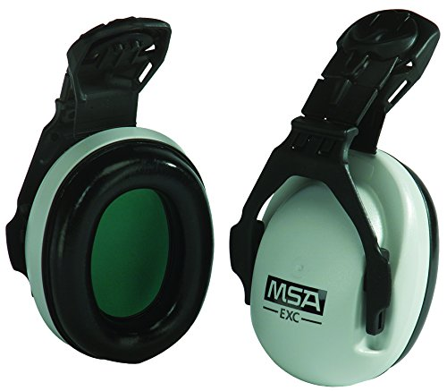 MSA 10061230 SoundControl EXC Earmuffs, NRR 25 dBa,Black/Grey