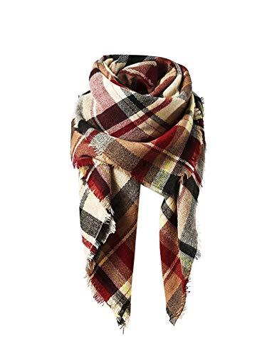 Trendy Women's Cozy Warm Winter Fall Blanket Scarf...