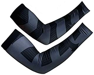 Unisex Compression Fit Cooling Arm Sleeves UV Protection