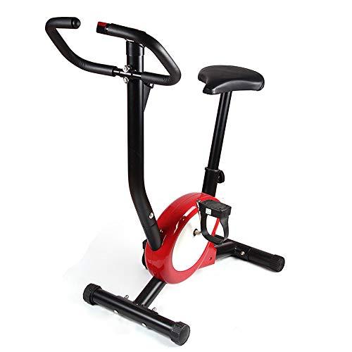WVIVW Ultrasport F-Bike Advanced, Fahrradtrainer, Faltbarer Heimtrainer mit Trainingscomputer und Handpulssensoren Fitnessbike Mini-Heimtrainer Fitnessgeräte Fit Abnehmen Sport Schulung