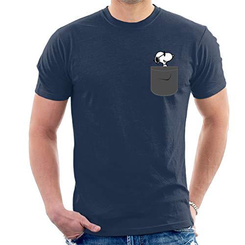 Snoopy Pocket Print Peanuts Men's T-Shirt