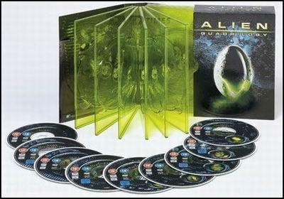 Alien Quadrilogia - Bxs (9) [DVD]